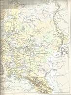 Géographie, Russie, Drioux Leroy - Librairie Belin Paris - Carte Politique - Geographical Maps