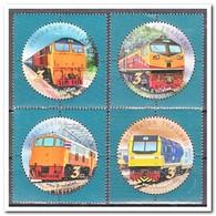 Thailand 2017, Postfris MNH, 120th Anniversary Of The State Railway, Trains - Thailand