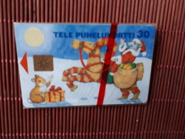 Phonecard Christmas New With Blister (Mint,Neuve)  Rare - Finland