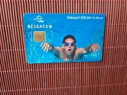 Phonecard Sport 500 BEF  Used  Low Issue Rare - Belgium