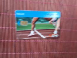 Phonecard Sport 10 Euro PH 30/11/2007  Used  Low Issue Rare - Belgium