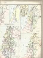 Géographie, Terre Sacrée - Dispersion Des Fils De Noé - Royaume David Et Salomon - Palestine - Terre Sainte .... - Geographical Maps