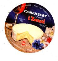 R  992 - ETIQUETTE DE FROMAGE- CAMEMBERT L'EXCEL   ANCO - Cheese