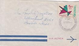 BASE CONJUNTA TTE MATIENZO-ANTARTIDA ARGENTINA OBLITERACION 1965, AUTRES MARQUES.- BLEUPJ - Research Stations