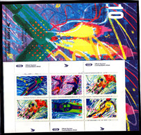 Olympics 1992 - Ice Hockey - CANADA - Stamp Booklet MNH** - Hiver 1992: Albertville