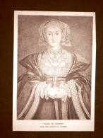 Anne Of Cleves Quadro Di Holbein Stampa Del 1888 - Before 1900