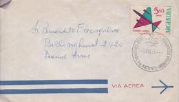 BASE CONJUNTA TTE MATIENZO-ANTARTIDA ARGENTINA OBLITERACION 1965, AUTRES MARQUES.- BLEUP - Research Stations