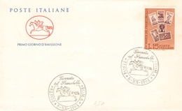 ITALIEN - FDC 1964 STAMP DAY Mi #1173 - 6. 1946-.. Republik