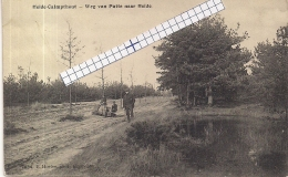 "HEIDE-CALMPTHOUT-KALMTHOUT ""WEG VAN PUTTE NAAR HEIDE""HOELEN 7034 UITGIFTE 15.02.1914 TYPE 5 - Kalmthout"