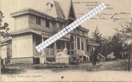 """HEIDE-CALMPTHOUT-KALMTHOUT""""CHALET LE MONT NOIR-DEN ZWARTEN HEUVEL""""HOELEN 854 UITGIFTE B03.05.1903  TYPE  2 - Kalmthout"""