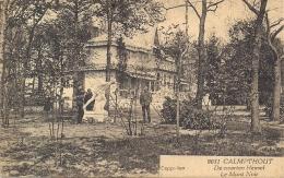 """HEIDE-CALMPTHOUT-KALMTHOUT""""CHALET LE MONT NOIR-DEN ZWARTEN HEUVEL""""HOELEN 9031 UITGIFTE 25.08.1924  TYPE  7 - Kalmthout"""