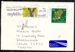 Ireland (Eire) To Pakistan Used Traveled Cover (EN-05) - Covers & Documents