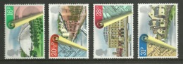 GB 1984 URBAN RENEWAL ARCHITECTURE GARDENS SET MNH - Nuovi