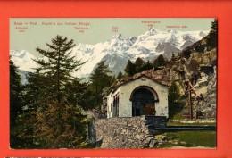DA10-04  Saas-fee Kapelle Zur Hohen Stiege. Nicht Gelaufen.  WFB 854 - VS Valais