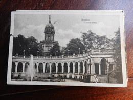 17570) POLONIA POLAND BRESLAU LIEBICHSHOHE VIAGGIATA 1928 BOLLO TEDESCO DIFETTOSO - Polonia