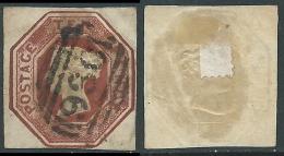 1847-54 GREAT BRITAIN USED REGINA VITTORIA SG 57 10d - 1840-1901 (Victoria)