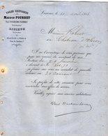 VP12.375 - Facture - Toiles Cretonnes Maison FOURNET - Paul DUCHESNE - FOURNET Successeur à LISIEUX - Textile & Clothing