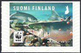 Finland Suomi 2018 WWF Fish Salmon - Fishes