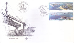 SOUTH AFRICA : FIRST DAY COVER WITH INFORMATION BROCHURE INSIDE : RICHARDS BAY - Covers & Documents