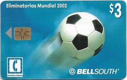 Ecuador - Bell South - Eliminatorias Mundial 2002 Football - 04.2002, 3$, Used - Equateur
