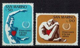 San Marino 1972 // Mi. 1013/1014 ** (024..425) - Ungebraucht