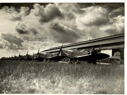 1940  RAF MILES MAGISTER   21 * 16  CM Aviation, AIRPLAIN, AVION AIRCRAFT - Aviación