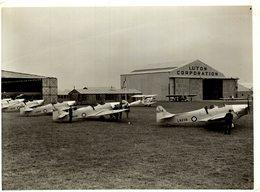 LUTON CORPORATION  MILES MAGISTER   21 * 16  CM Aviation, AIRPLAIN, AVION AIRCRAFT - Aviación