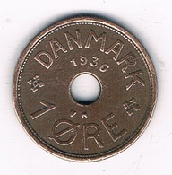 1 ORE 1936 DENEMARKEN /3452G/ - Denmark