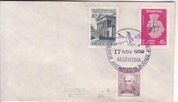 SIMPOSIO ANTARTICO BUENOS AIRES 1959. SOBRE ENVELOPE. ARGENTINA.- BLEUP - Polar Philately