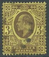 1911 GREAT BRITAIN USED SG 285 3d PURPLE LEMON - 1902-1951 (Re)