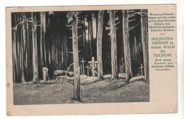 Nr.+  713,  Soldatengräber In Einem Wald Bei Tuchow, Polen - Soldatenfriedhöfen