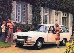 Peugeot 504 Break  -  1960  -  15 X 10 Cms PHOTO - Cars