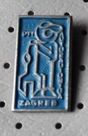 Car Wash PIT Zagreb Croatia Ex Yugoslavia Pin - Badges