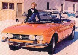 Peugeot 504 Cabriolet  -  1962  -  15 X 10 Cms PHOTO - Cars