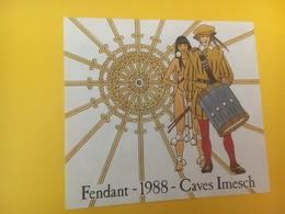 8427 - Fendant 1988 Caves Imesch Suisse - Fumetti
