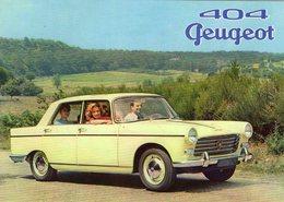 Peugeot 404 Berline  -  1966  -  15 X 10 Cms PHOTO - Cars