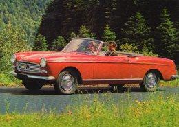 Peugeot 404 Cabriolet  -  1962  -  15 X 10 Cms PHOTO - Cars