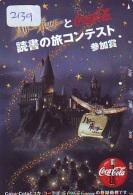 Carte Prépayée  Japon  * COCA COLA  (2139) FILM * HARRY POTTER * CINEMA * JAPAN Phonecard *  PREPAID CARD - Cinema