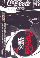 Carte Prépayée  Japon  * COCA COLA  (2149) JAMES BOND * 007 * CINEMA * FILM  *  JAPAN Phonecard *  PREPAID CARD - Cinema