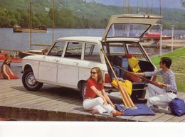Peugeot 204 Break  -  1969  -  15 X 10 Cms PHOTO - Cars