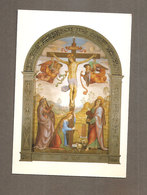 CROCEFFISSIONE SANTINO CARTOLINA - Devotion Images