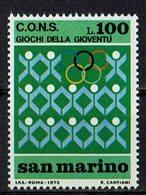 San Marino 1973 // Mi. 1028 ** (024..433) - Ungebraucht