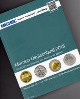 Deutschland/EURO MICHEL Münzen 2018 Neu 30€ D Ab 1871 3.Reich BRD DDR Numismatik Coins Catalogue 978-3-95402-230-4 - Manuali