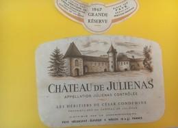 8436 - Château De Julienas 1967 - Beaujolais
