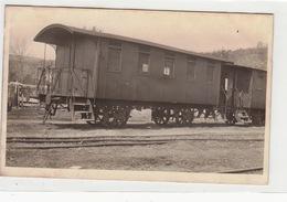 Torino-1929-Cartolina Postale-Vagone F.S. -Nei Particolari Diversa Dalle Altre E Particolari !-Originale D'Epoca100%-an - Altri