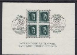 Deutsches Reich  Block Mit Stempel 1937 - Deutschland