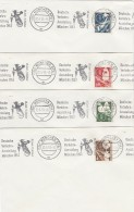 Bund 4 Briefe 1953 - BRD