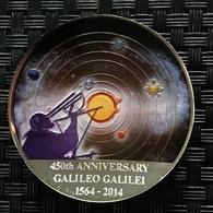 Congo - 30 Francs 2014 'Galileo Galilei' - 1 Oz Silver - VR-Rep. Kongo - Brazzaville