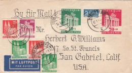 Allierter Besetzung Amerikanische Und Britische Zone Brief 1949 - Bizone