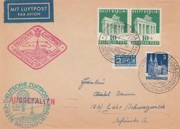 Allierter Besetzung Amerikanische Und Britische Zone Brief Luftpost 1949 - Bizone